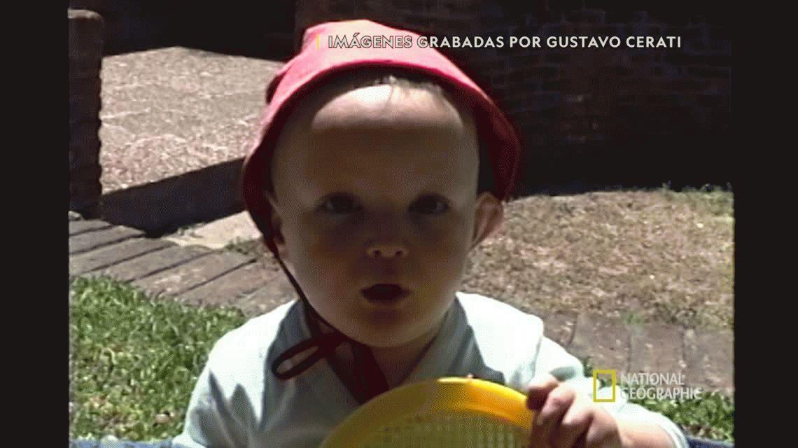 Difunden un video inédito de Gustavo Cerati cantándole a su hijo Benito