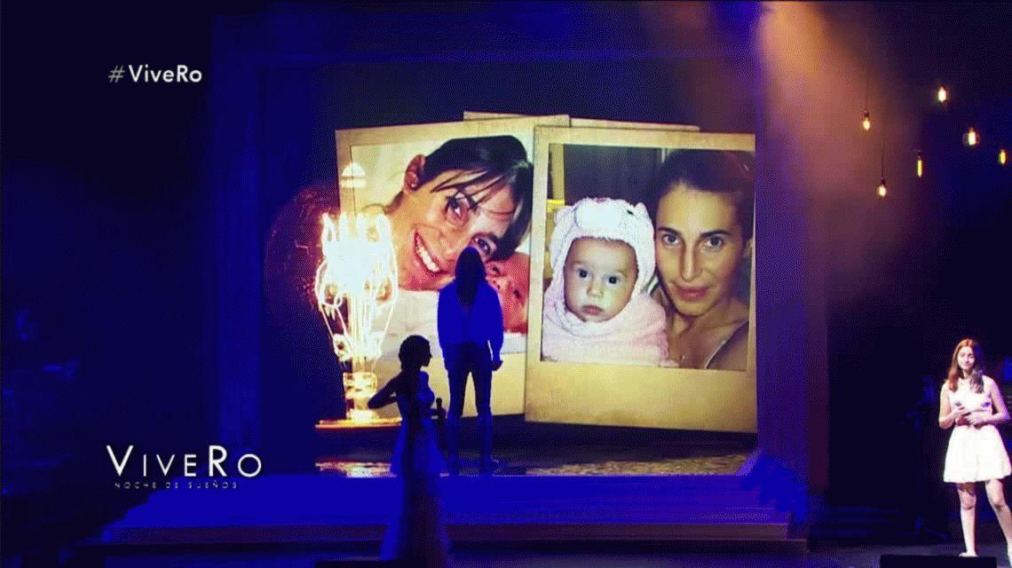 Los hijos de Romina Yan emocionaron a todos en el ViveRo
