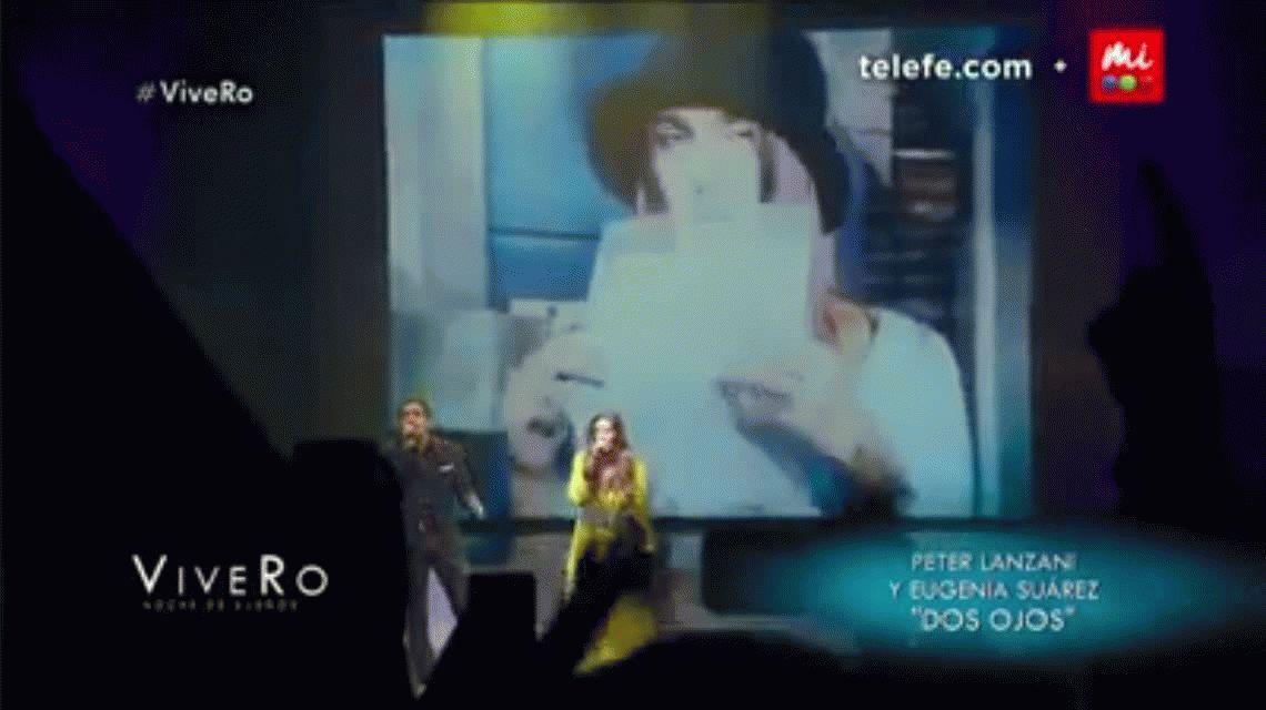 ViveRo: La China Suárez brilló con Peter Lanzani cantando Dos Ojos de Casi Ángeles