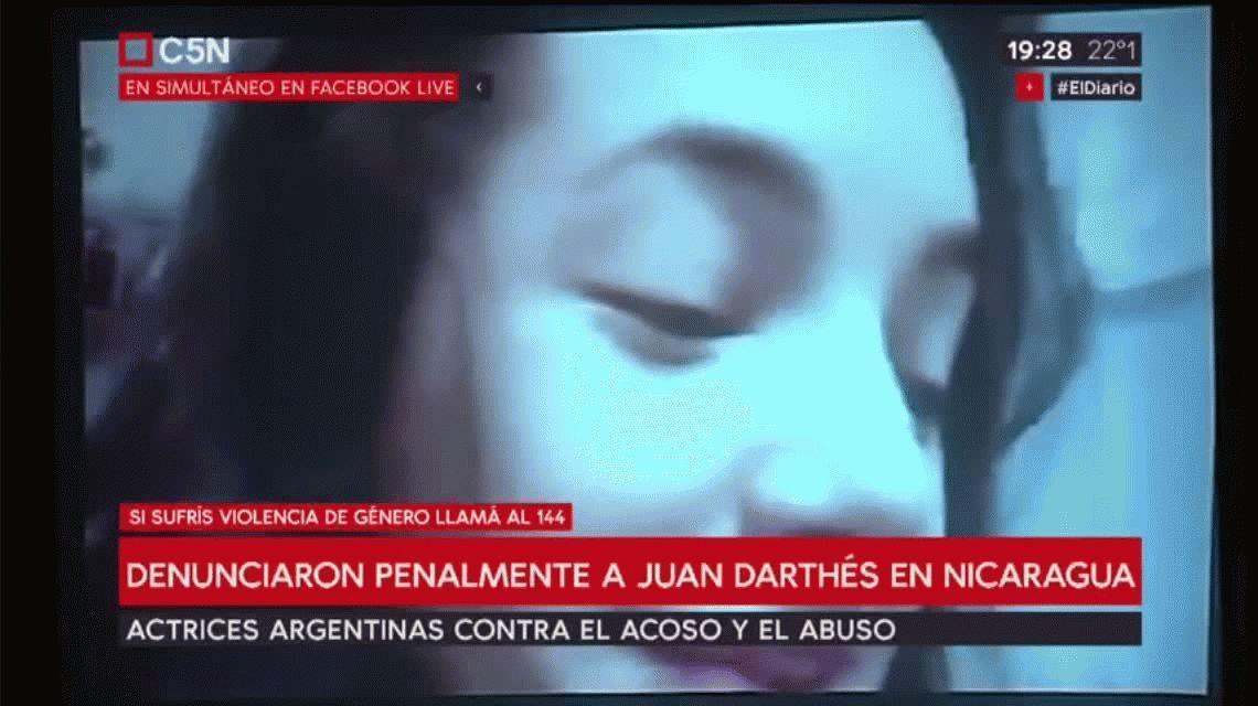 El video con el que Thelma Fardín denunció por violación a Juan Darthés