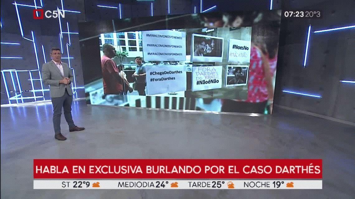 Fernando Burlando ratificó que cree en la palabra de Juan Darthés y adelantó que el sábado habrá una sorpresa