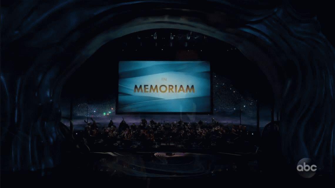VIDEO: Así fue el In Memoriam de los Oscar