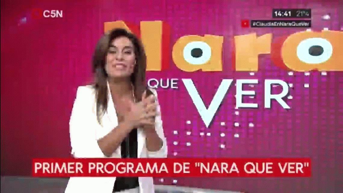 Claudia Villafañe rompió su silencio en C5N: Diego se está perdiendo disfrutar de sus nietos