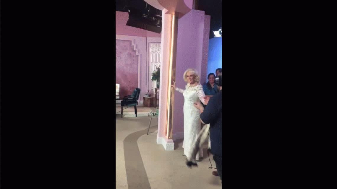 Así fue el regreso de Mirtha Legrand a la TV tras la cirugía abdominal