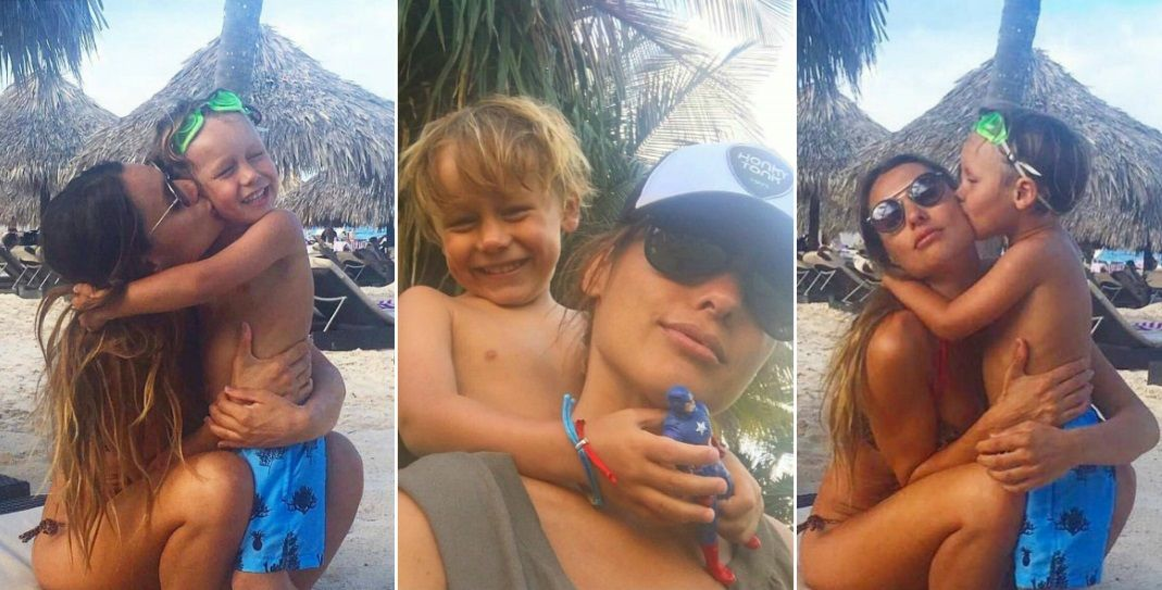 Pampita celebró el cumple de su hijo Beltrán en las redes sociales