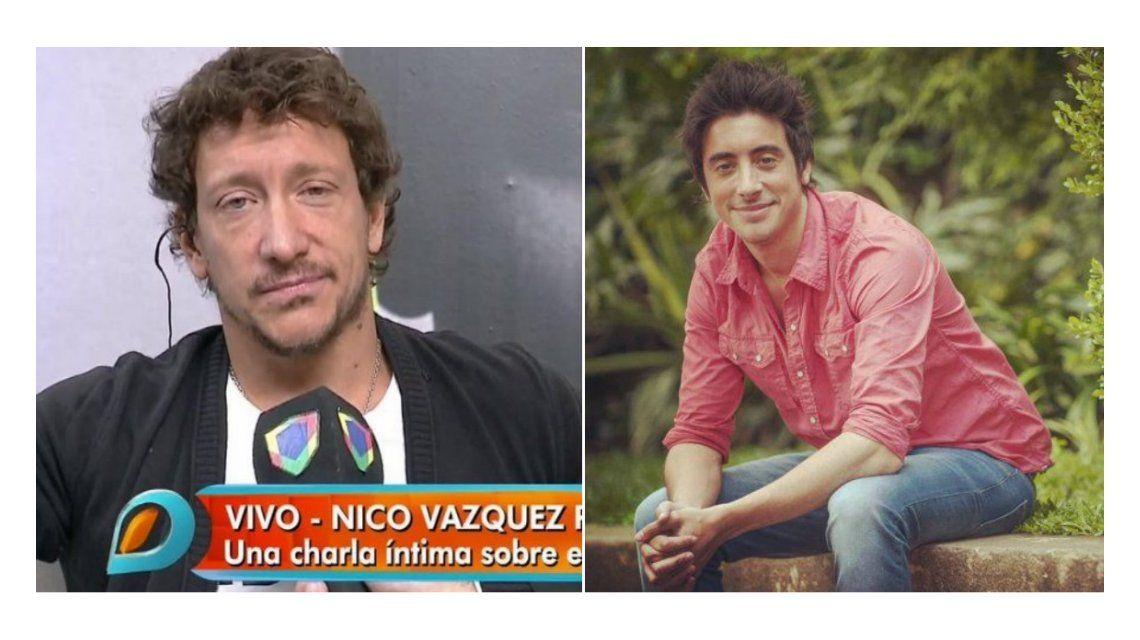 Nico Vázquez habló de la muerte de su hermano Santiago.