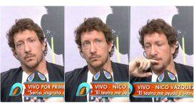 Nico Vázquez habló por primera vez sobre su hermano Santiago