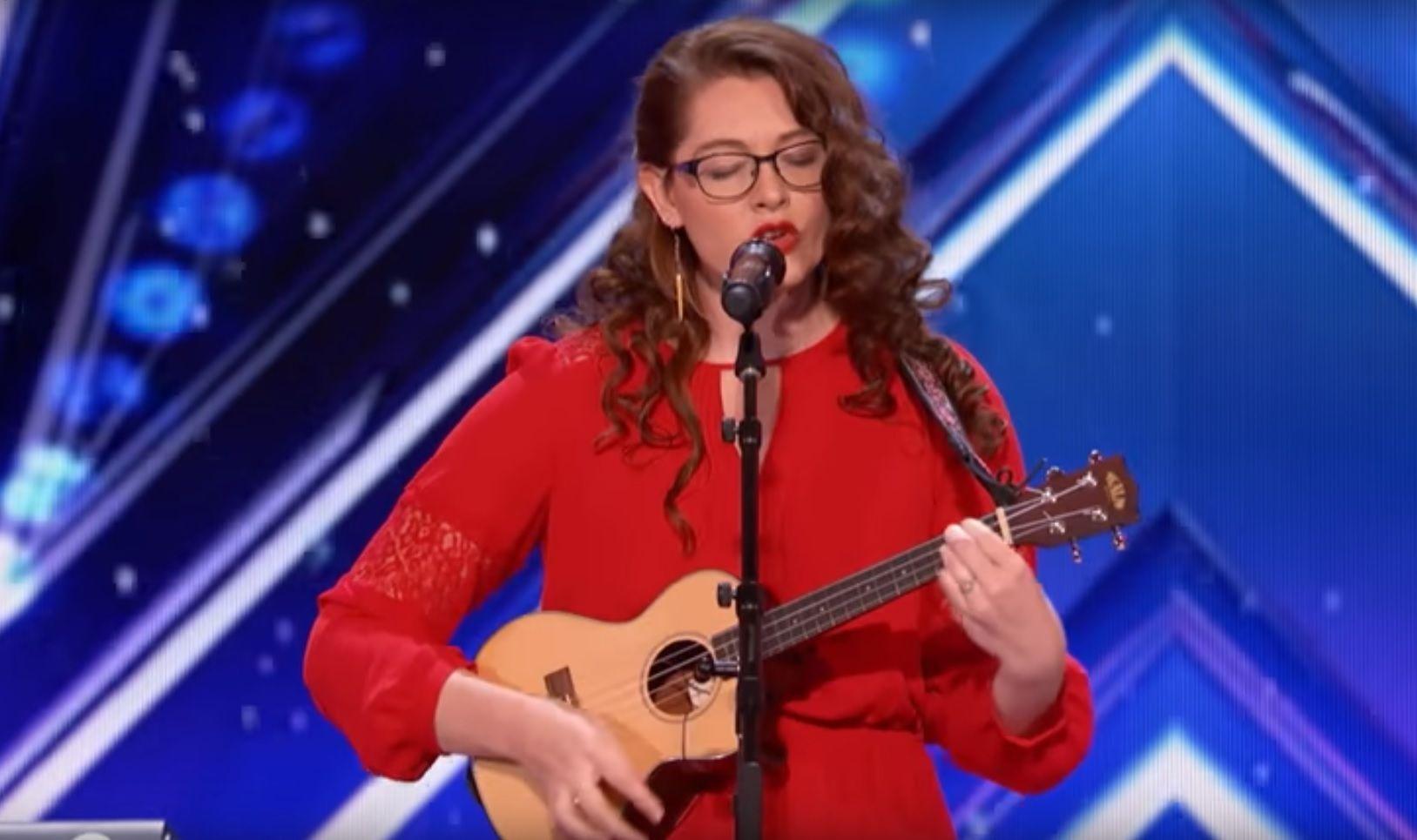 Mandy Harvey conmovió a Americas Got Talent