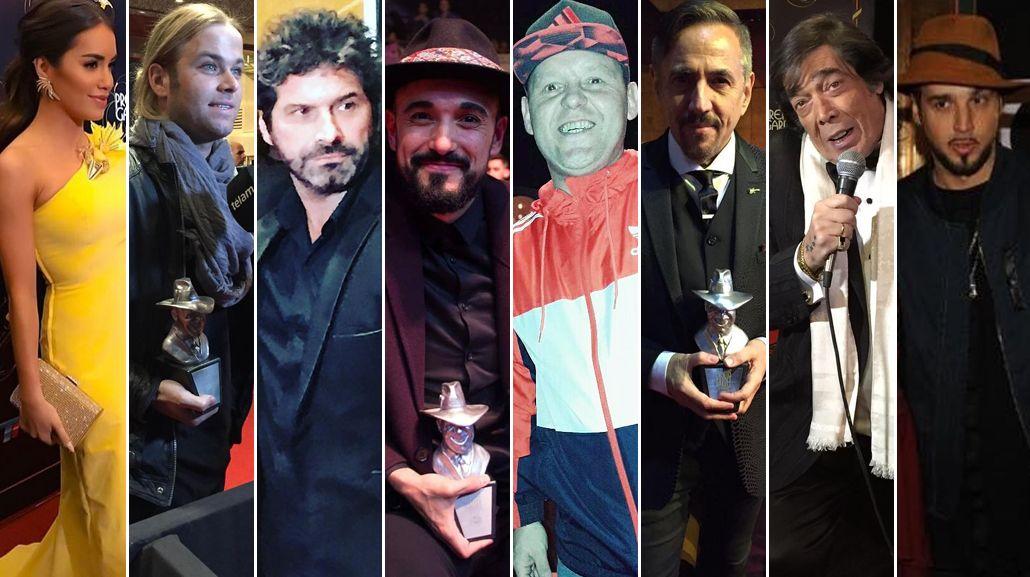 El looks de los famosos en los Gardel 2017