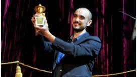 Abel Pintos, se llevó el Gardel de Oro 2017