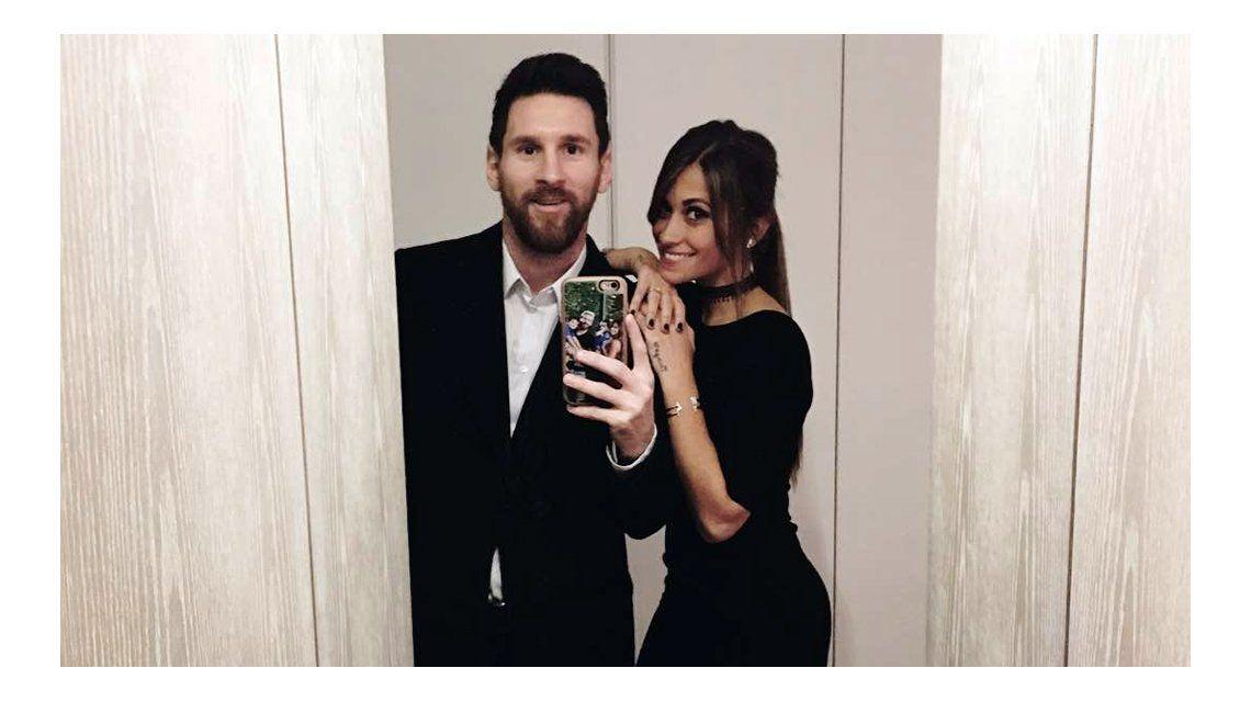 El casamiento de Messi y Ruccuzzo