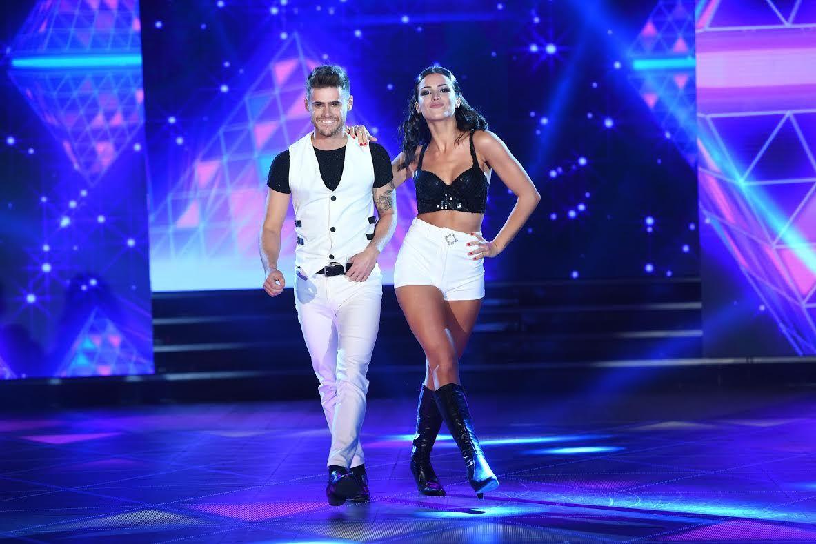 Bailando 2017: las fotos del debut de Gastón Soffritti y su novia Agustina Agazzani
