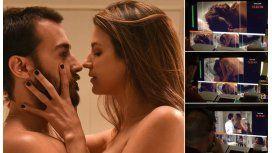 Las Estrellas: Así se grabó la escena de sexo de Marcela Kloosterboer y Nicolás Francella