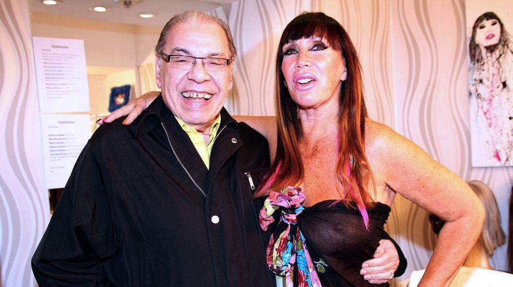 Moria Casán y Enrique Pinti