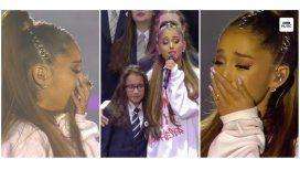 One Love Manchester: el llanto de Ariana Grande