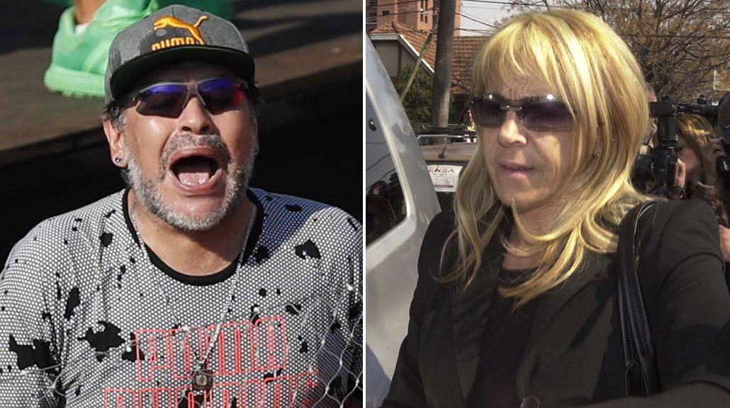 Diego Maradona llamó a Claudia Villafañe