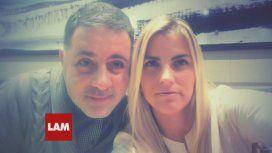 Fabián Doman y su novia