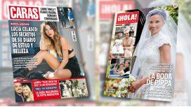 Lucía Celasco, Candelaria Tinelli y Pippa Middleton, protagonistas de las tapas