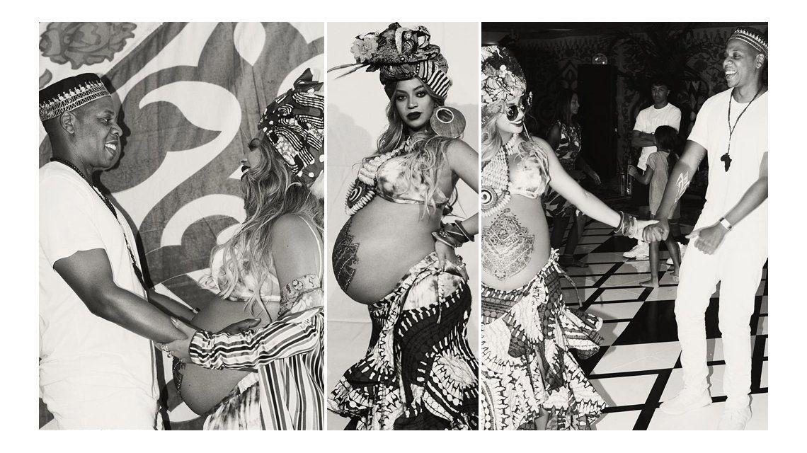 El baby shower de Beyoncé