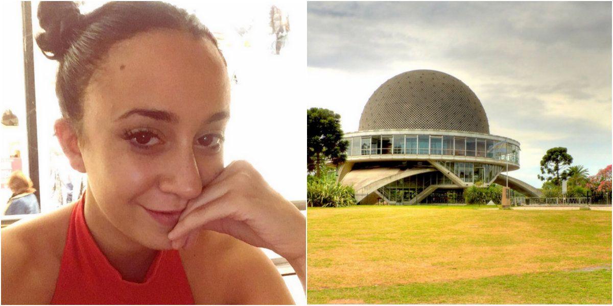 Naiara Awada convocó a sus fans en el Planetario y no fue nadie
