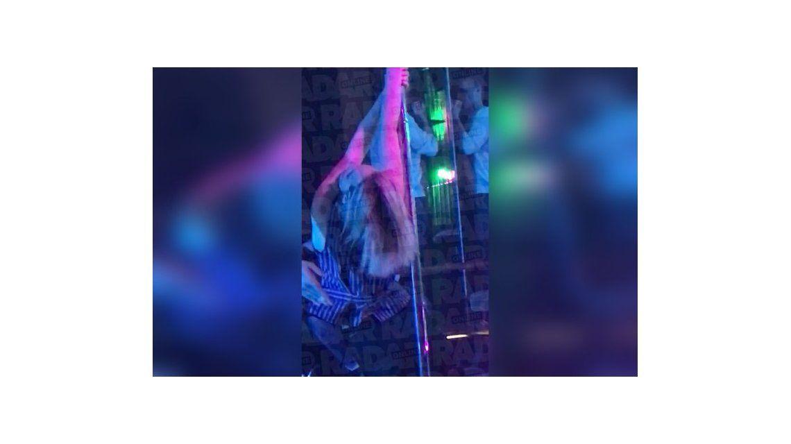 El video de Jennifer Lawrence bailando en el caño de striptease