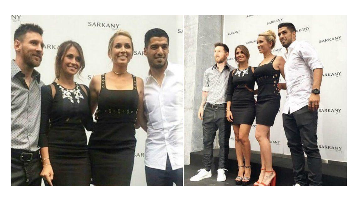 Antonella Roccuzzo y Sofía Balbi abrieron el local de Sarkany en Barcelona.
