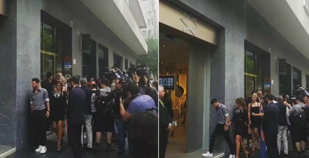 Antonella Roccuzzo abrió un local de Sarkany en Barcelona