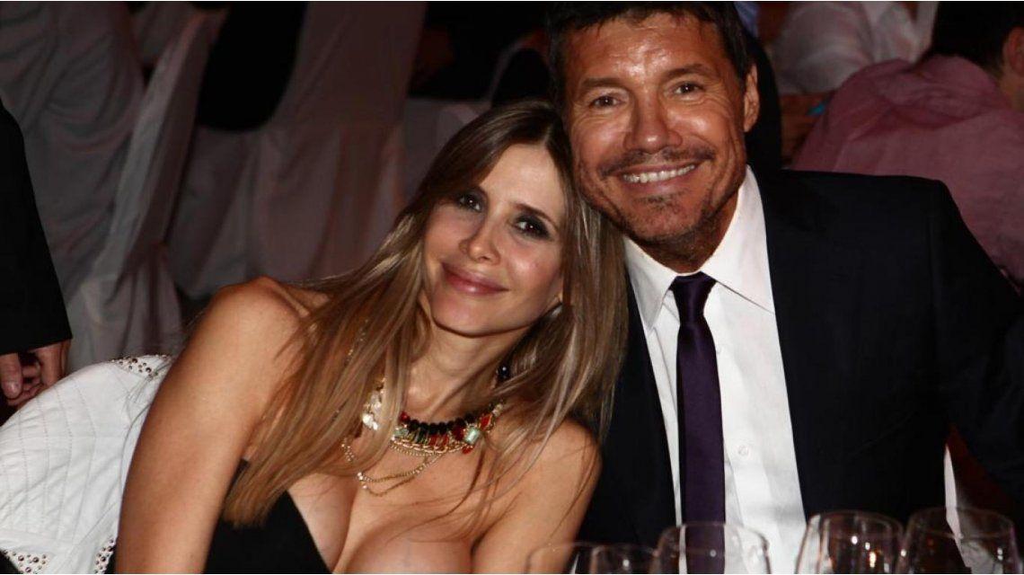 La curiosa convivencia de Guillermina Valdes y Tinelli