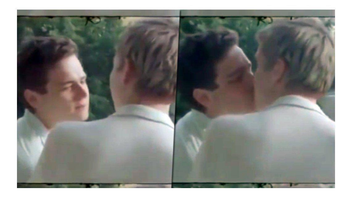 Dos actores de 13 reasons why a los besos