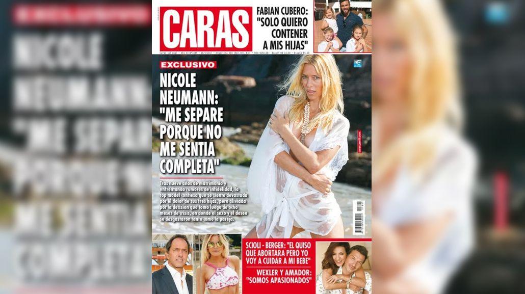 Nicole Neumann ocupa la tapa de la revista Caras y puede llegar al Bailando