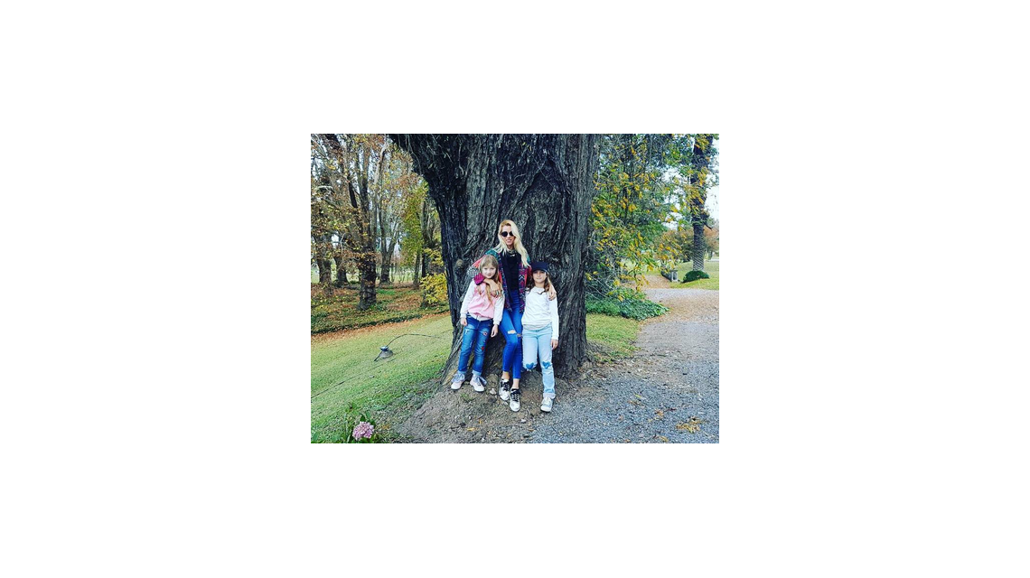 Nicole Neumann viajó a Salta con sus tres hijas: las fotos de su estadía