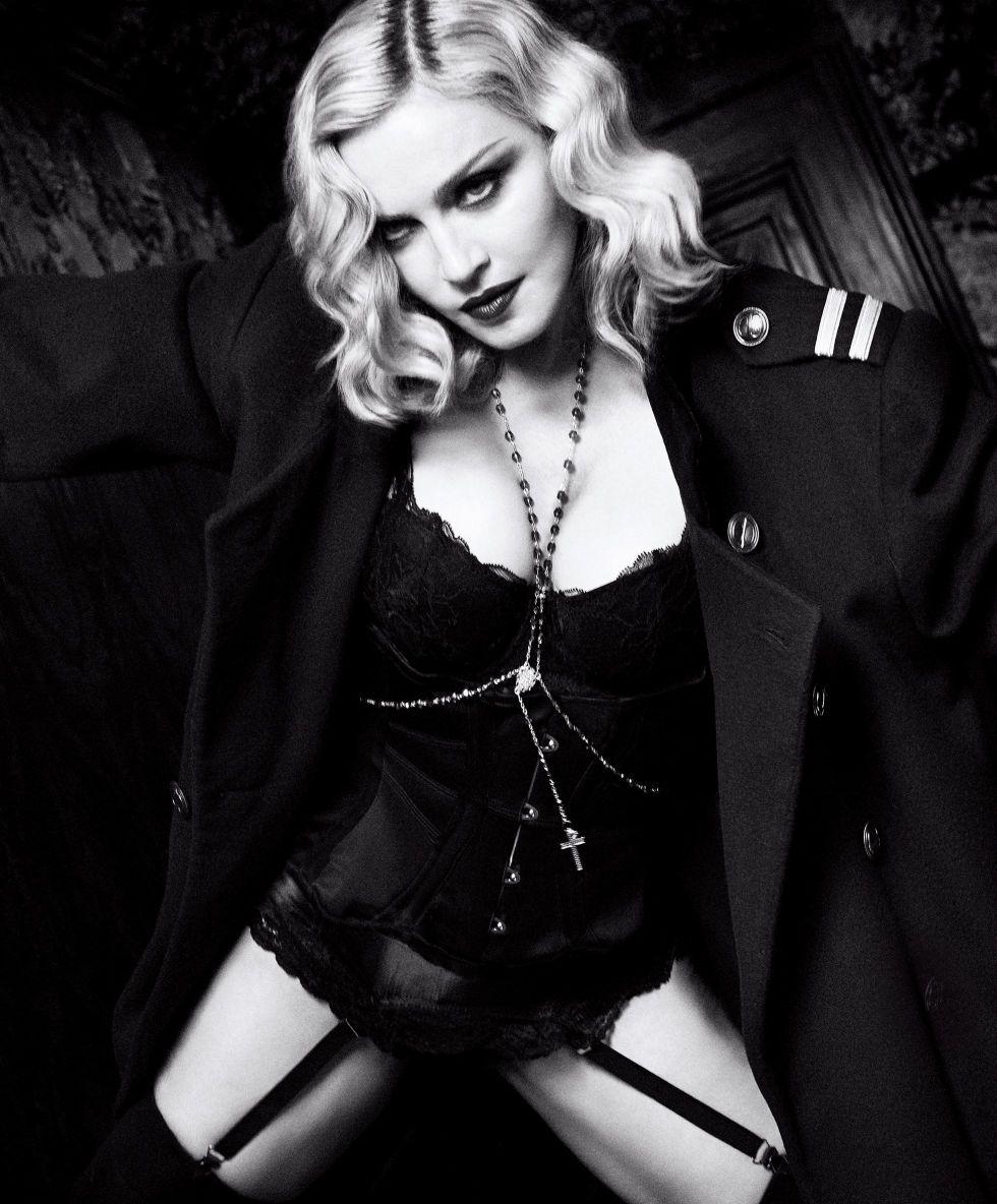 Madonna se desnudó a los 58 años