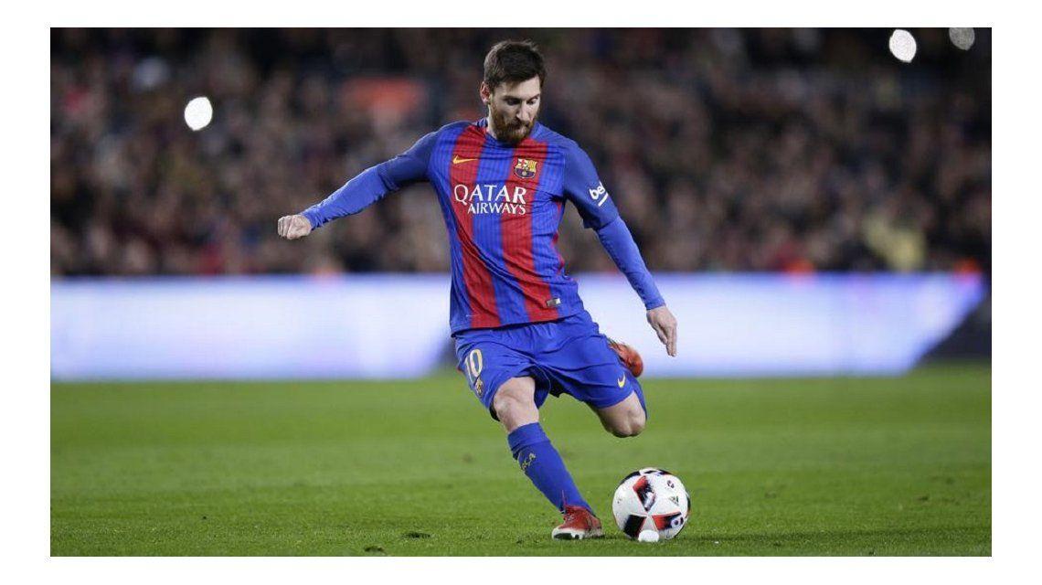 Lionel Messi se cambió el look