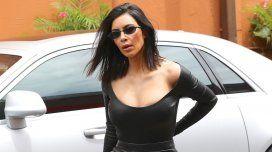 Kim Kardashian, sin corpiño