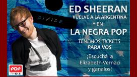 Atención, fanáticos: Pop Radio te regala entradas para ver a Ed Sheeran