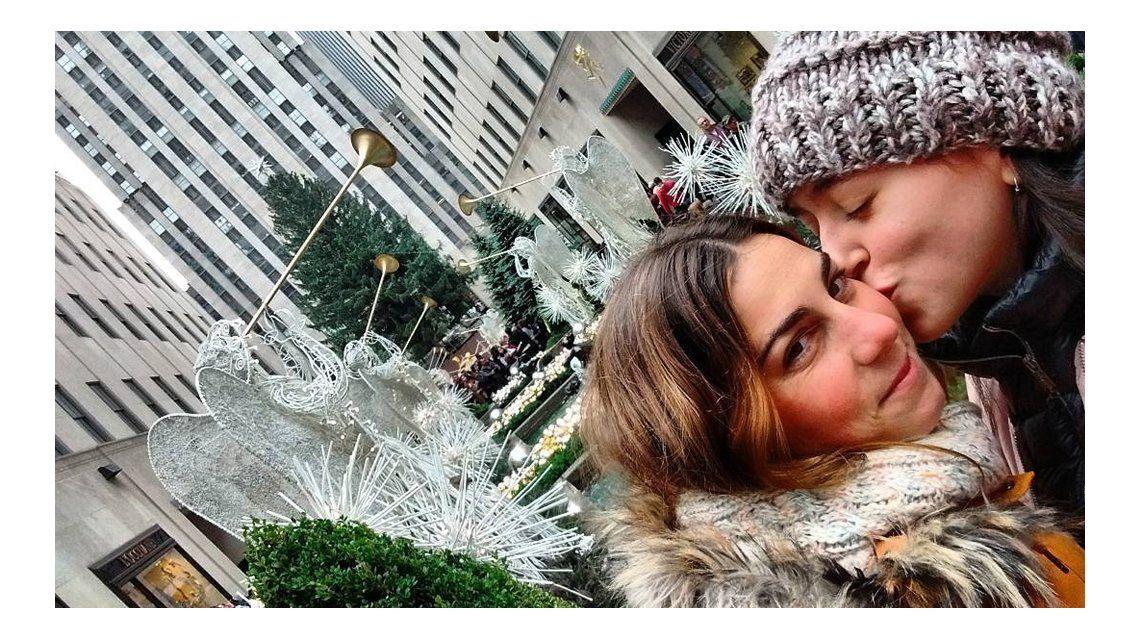 Leticia y Delfina están juntas hace tres años