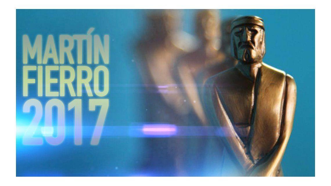 Todos los programas nominados a los Martín Fierro 2017
