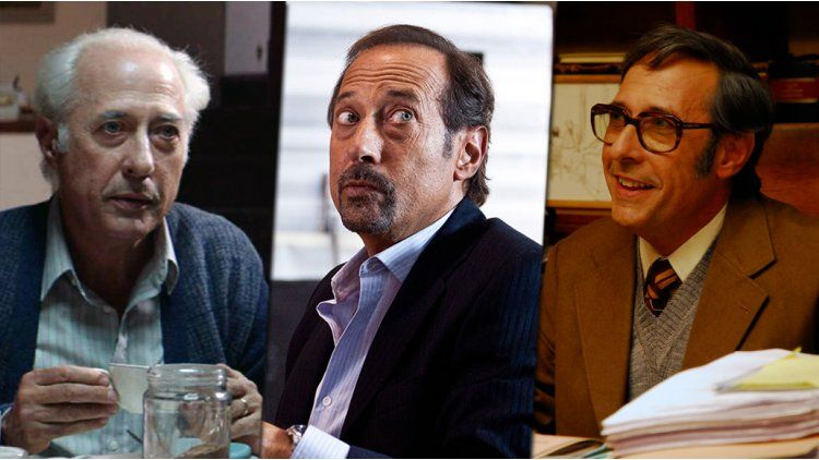 Los looks de Guillermo Francella a través de las películas y las ficciones