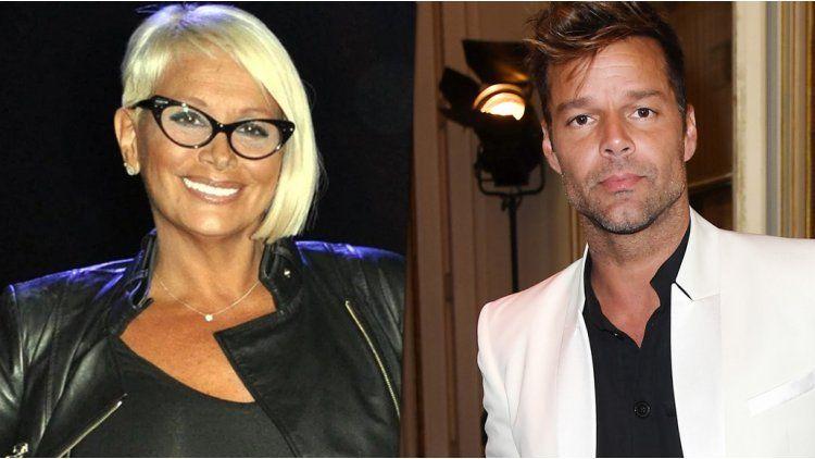 El encuentro de Carmen Barbieri y Ricky Martin
