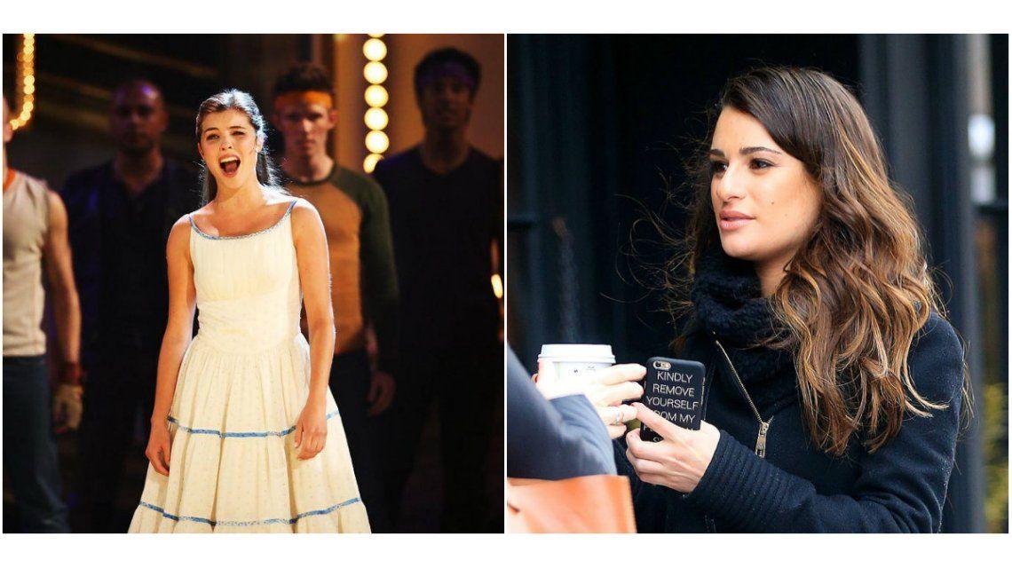 Lea Michele habló del papel que finalmente le tocó a Josefina Scaglione.