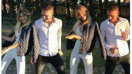 Candela Ruggeri bailó Despacito con su hermano