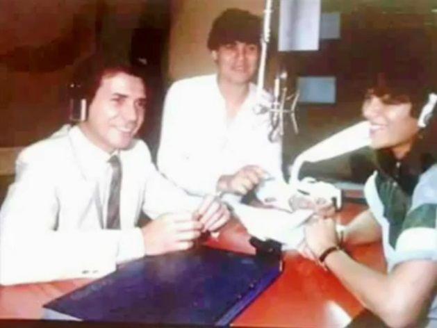 El debut de  Tinelli en la radio: qué estudió antes de ser famoso