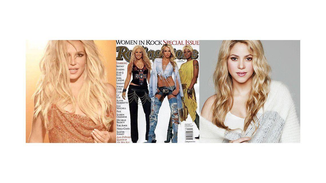 Britney Spears ninguneó a Shakira