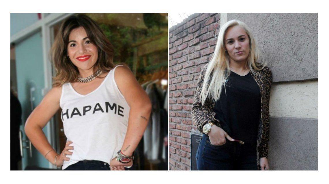 Gianinna Maradona vs Rocío Oliva