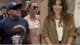 Rocío Oliva respondió a las acusaciones de Gianinna Maradona