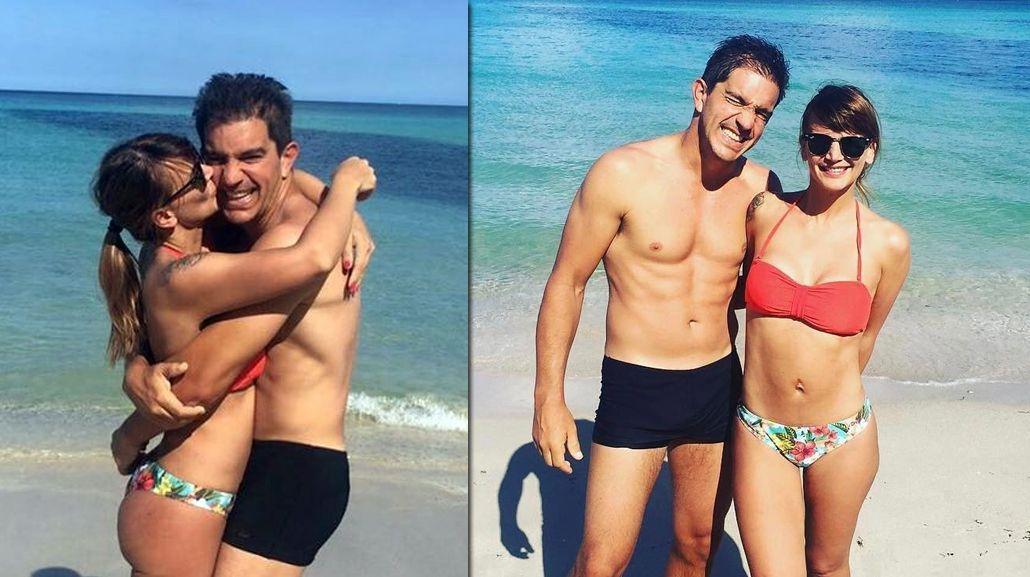 A cuatro meses de dar a luz, Amalia Granata se mostró en bikini