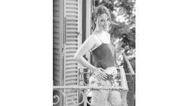 Agustina kampfer posó por primera vez mostrando su panza de embarazada.