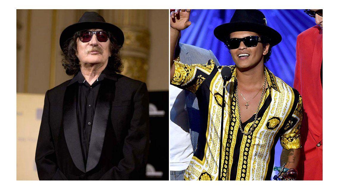 Charly García acusó de plagio a Bruno Mars por Uptown Funk