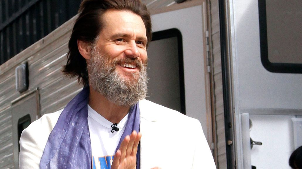 Jim Carrey, irreconocible