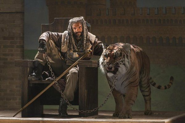 El secreto de la escena del tigre de The Walking Dead